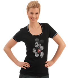 trigema damen t shirt disney motiv aus strasssteinen. Black Bedroom Furniture Sets. Home Design Ideas