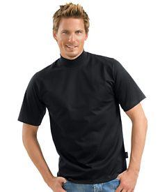 70d25f7a1e Das Bild wird geladen Trigema-T-Shirt-Stehkragen-ver-Farben-und-Groessen